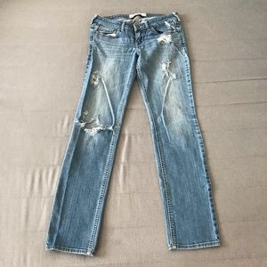 Hollister Distressed Denim Jeans